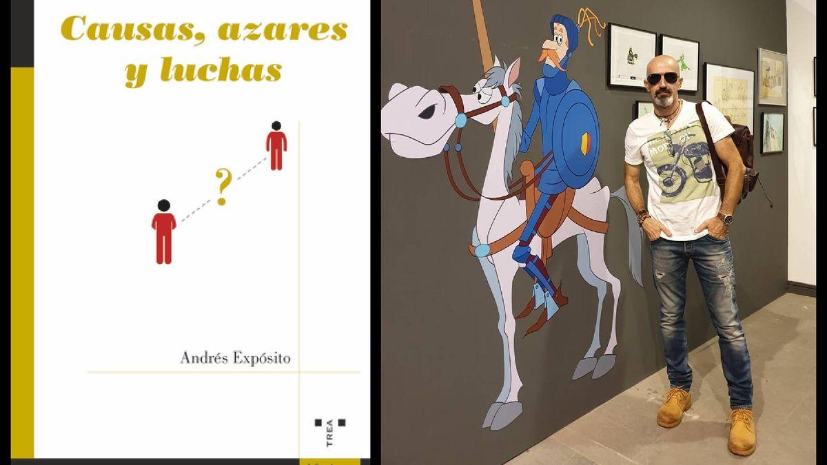ElDiario.e - El palmero Andrés Expósito publica un libro de aforismos